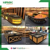 Supermarket Luxury Store Fruit and Vegetable Display Stand