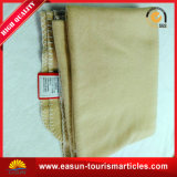 High Quality Fancy-Weave Cotton Knit Blanket, Best Price Airline Blanket