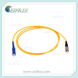 SC/PC-FC/PC Fiber Optic Patch Cord, Sm Simplex Patchcord