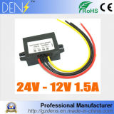 24V to 12V 1.5A 18W Step Down DC DC Converter