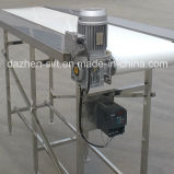 304 Stainless Belt Conveyor for Food Transporting with Working Plateform
