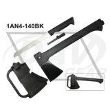 "14""Overall Black Outdoor Axe with PA+Nylon Fiber Handle: 1an4-140bk"
