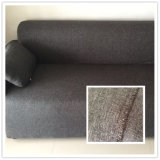 Polyester Home Decoration Double Color Linen Cloth for Sofa