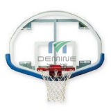 Abrasion Resistant Polycarbonate Bison Fan-Shaped Basketball PC Backboard