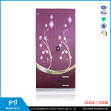 Mingxiu 2 Door Bedroom Metal Wardrobe / Steel Wardrobe Price