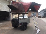 Mini Camper Trailer X1 with Tent Lifting Frames