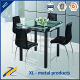 Modern Design Bent Glass Top Bar Table