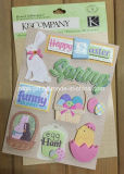 Customize 3D Dimensional Scrapbook Handmade Paper Craft Glitter Stickers