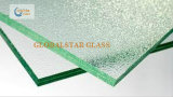 Australia Standard Clear Patterned Laminated Glass/Figured Laminated Glass