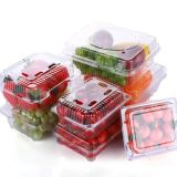 Eco-Friendly Blueberry/Strawberry/Cherry Air Holes Plastic Fruit Packaging Box