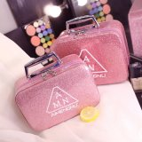 Custom Logo Gift Travel Toiletry Makeup Bag Case Women PU Leather Cosmetic Bags Cases Bag for Cosmetics Hair Range