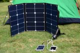 70W Sunpower Outdoor Folding Solar Panel for Camping