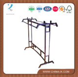 Metal Stainless Steel Clothes Display Rack for Clothes Shop