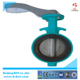 Cast Iron Body Wafer Butterfly Valve with Handle Bct-Wbfv-01