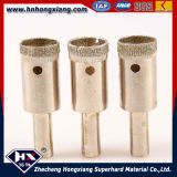 High Efficiency and No Chipping Electroplate Drill Bits