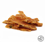 100% Natural No Additive Dried Cut Chicken Fillet Dog Treats Pet Food