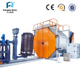 Two Arms Shuttle Rotomolding Machine in China