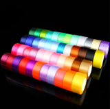 Colorful Packing Polyester Satin Ribbon