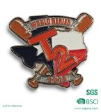 BSCI Factory Custom Baseball Enamel Promotion Metal Lapel Pin (KC-2)