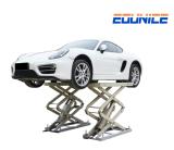 on-7802 Heavy Duty Hydraulic Large Platform Scissor Car Lift for Sale