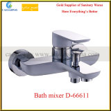 Brass Single Handle Shower Bath Mixer for Bathroom