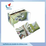 Hot Selling DIY 3D Google Cardboard Box with Customized Print Google Cardboard 3D Vr Glasses for Promotional Gifts