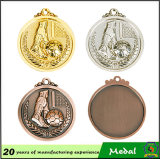 Customized Cheap Metal Custom Medal Plating Gold Football