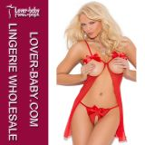 Ladies Temptation Sleepwear Nightwear Erotic Lingerie (L2052)