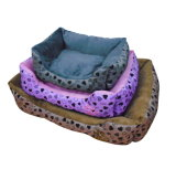 Hot Sale Faux Suede Dog Bed /House with Comfort Fill