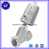 Y Type Normally Closed Pneumatic Angle Seat Valve