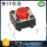 The Touch Switch 6*6*4.3-23 Red Head Pin High Temperature Environmental Protection Key Switch
