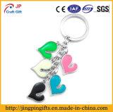 Custom Souvenir Heart Metal Key Chain Gift Items