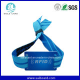 Track Field Park RFID Woven Fabric Bracelets for Promotion Gift