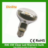 R80 E27 4W Multi-Function LED Reflector Light Bulb