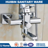 Stainless Steel Shower Mixer Bathroom Shower Set with Hand Shower