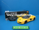 R/C Car Toys 4CH Remote Control Car (Red/Yellow/Blue) (958903)