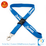 China Custom Fashion Flat Polyester Screen Printed Sublimation Tool Lanyard Bottle Holder Strap