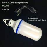 DC5V LED Flame Bulb with Rechargeable Battery