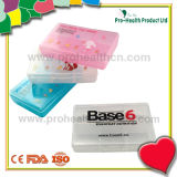 6 Compartment Pharmaceutical Gifts Promotional Pill Case