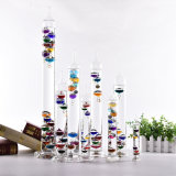 Popular Color Glass Galileo Thermometer for Decoration