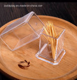 Cheap Clear Plastic Acrylic Toothpick Box Toothpick Holder Wholesales