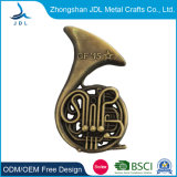 Competitive Price Metal Crafts Epoxy Hl. M. Prahy Badge Lapel Pinssoft Enamel Company VIP Member Pin Badge in Gold Plating (275)