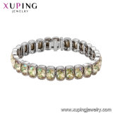 Xuping Excellent Quality Wholesale Gold Jewelry Charms Crystals From Swarovski Bracelet