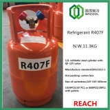 R407f Refrigerant Low Gwp in Refillable Steel Cylinder En13322-1