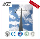 33 Kv 11 M Transmission Line Pole with Galvanized