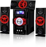 Multimedia Audio 3.1 Home Theater Speakers with USB Bluetooth