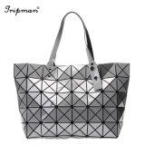 New Design Fashion Japan Korean Geometric Tote Women Hand Bag
