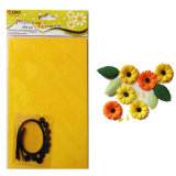 Handmade Paper Flower DIY Material Kit of Sunflower