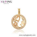 Xuping Newest Jewelry Design Valentine′s Day Gift Heart Pendant