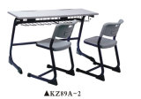 New Style School Student Desk and Chair/School Furniture Kz89A-2